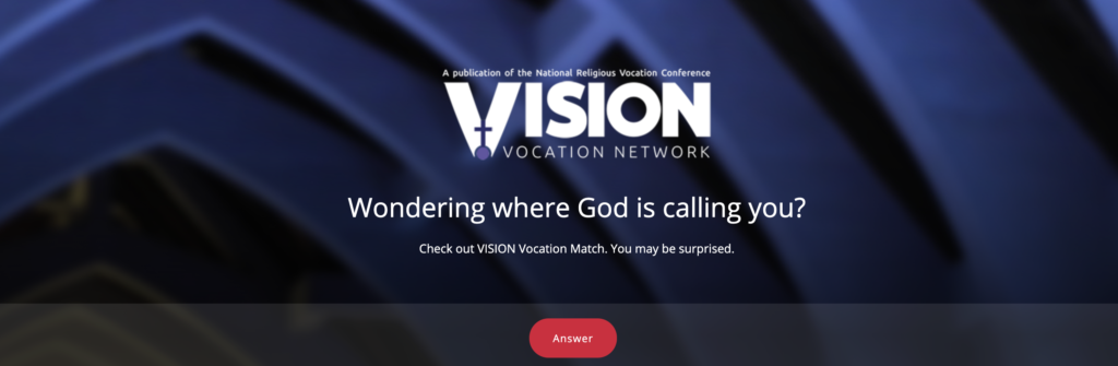 Featured Resource: VISION Vocation Match