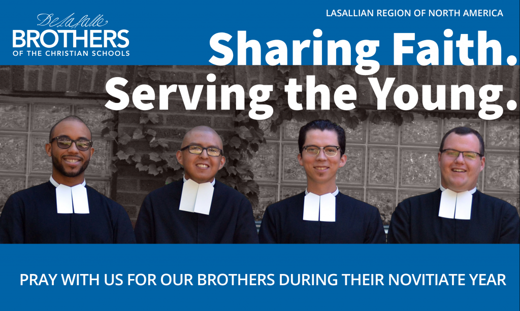 Pray for Brothers during their Novitiate Year
