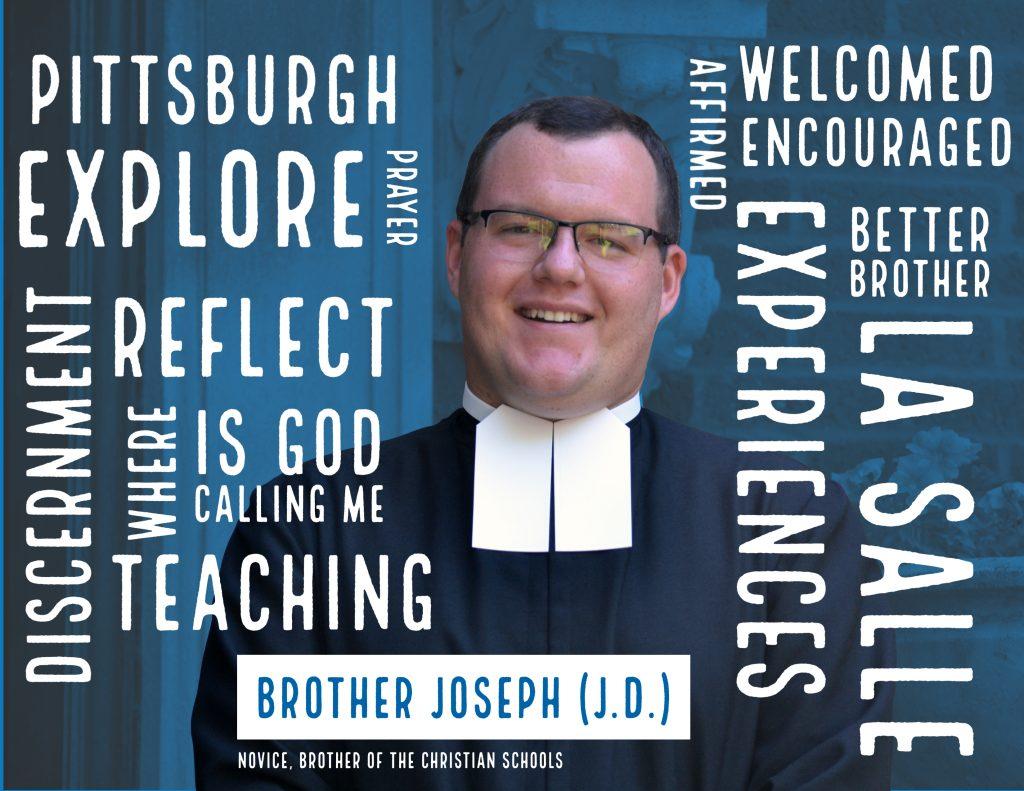 Novice Profile: Brother Joseph (J.D.)